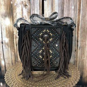 Montana West Fringe Crossbody Aztec Collection
